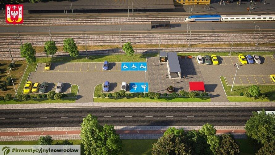 Zmiana lokalizacji parkingu przy dworcu PKP