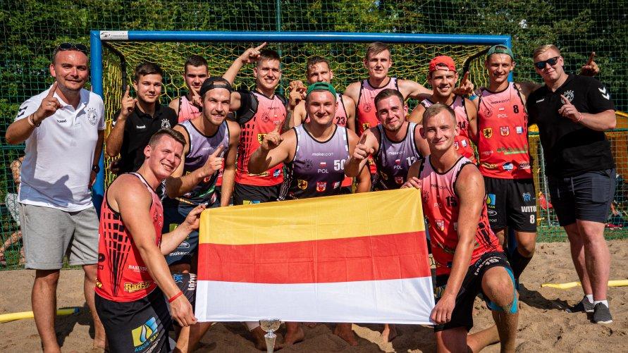 Mistrzostwa Polski i Pucharu Polski w piłce ręcznej plażowej Inowrocław Beach CUP Open 2021.