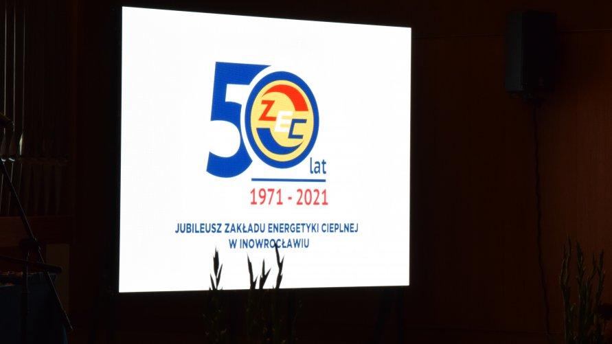 Uroczysta gala z okazji 50-lecia istnienia inowrocławskiego Zakładu Energetyki Cieplnej Sp. z o.o.
