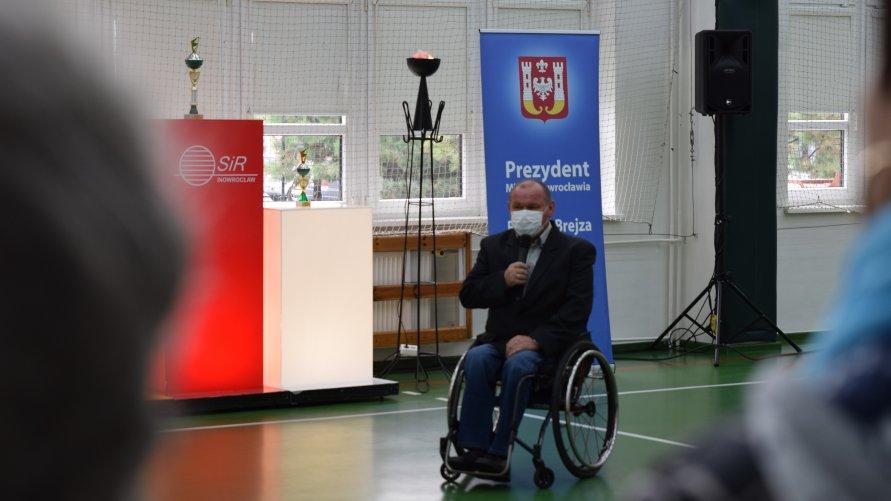 W Hali Widowiskowo-Sportowej w Inowrocławiu już po raz 19 odbyła się Spartakiada Osób Niepełnosprawnych.